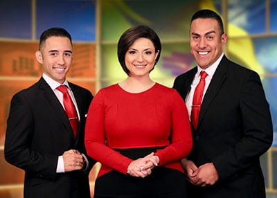 KOB Television News Team